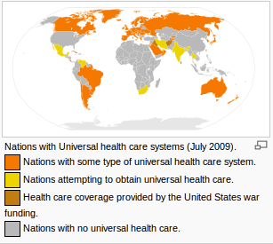 universal healthcare systems