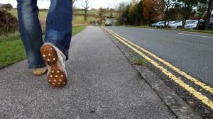 walking healthy