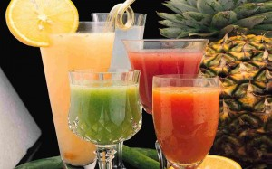 high sugar fruit juice