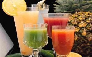 high sugar fruit juice
