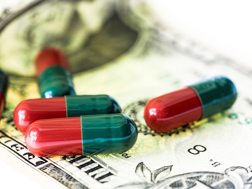 Money and medicines healthcare